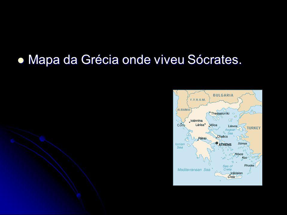 Mapa da Grécia onde viveu Sócrates. Mapa da Grécia onde viveu Sócrates.