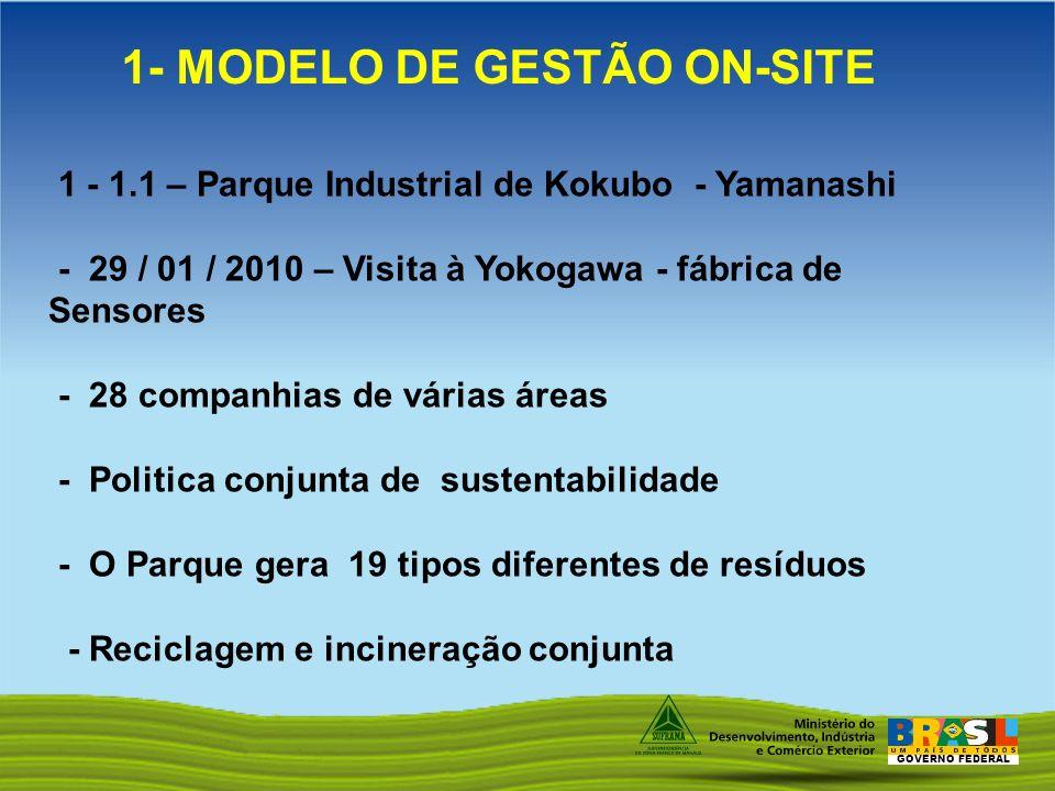GOVERNO FEDERAL 1 - 1.1 – Parque Industrial de Kokubo - Yamanashi - 29 / 01 / 2010 – Visita à Yokogawa - fábrica de Sensores - 28 companhias de várias