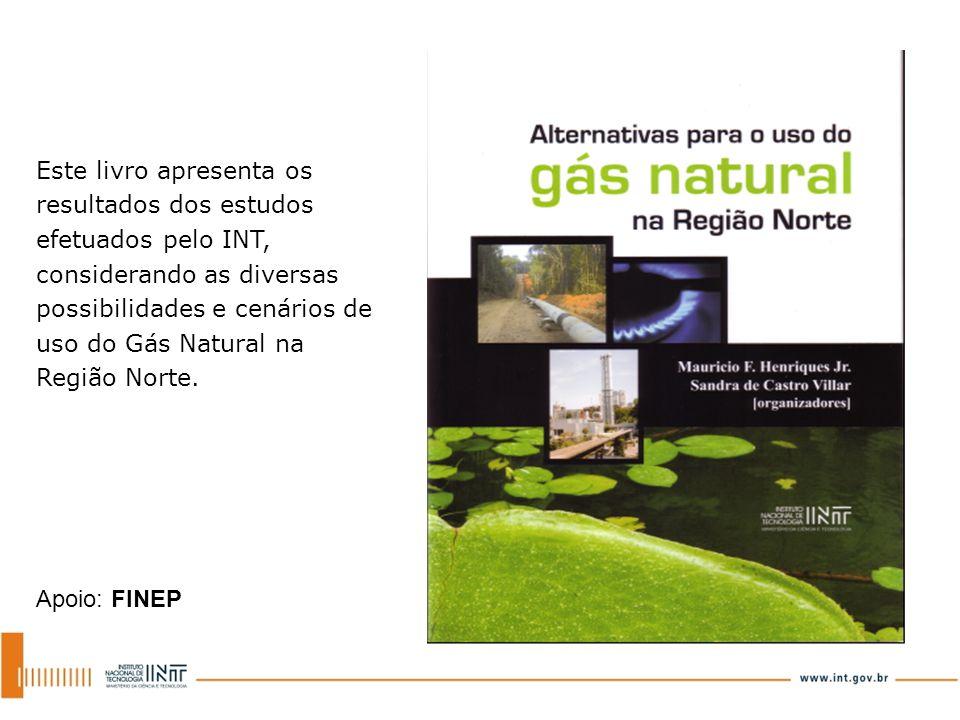 Este livro apresenta os resultados dos estudos efetuados pelo INT, considerando as diversas possibilidades e cenários de uso do Gás Natural na Região