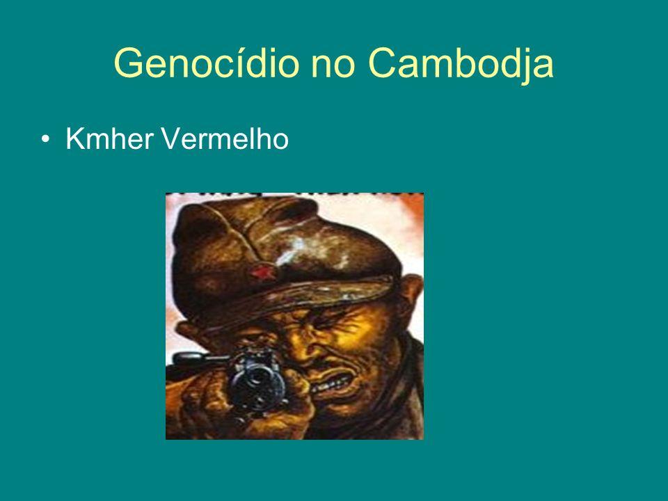Genocídio no Cambodja Kmher Vermelho