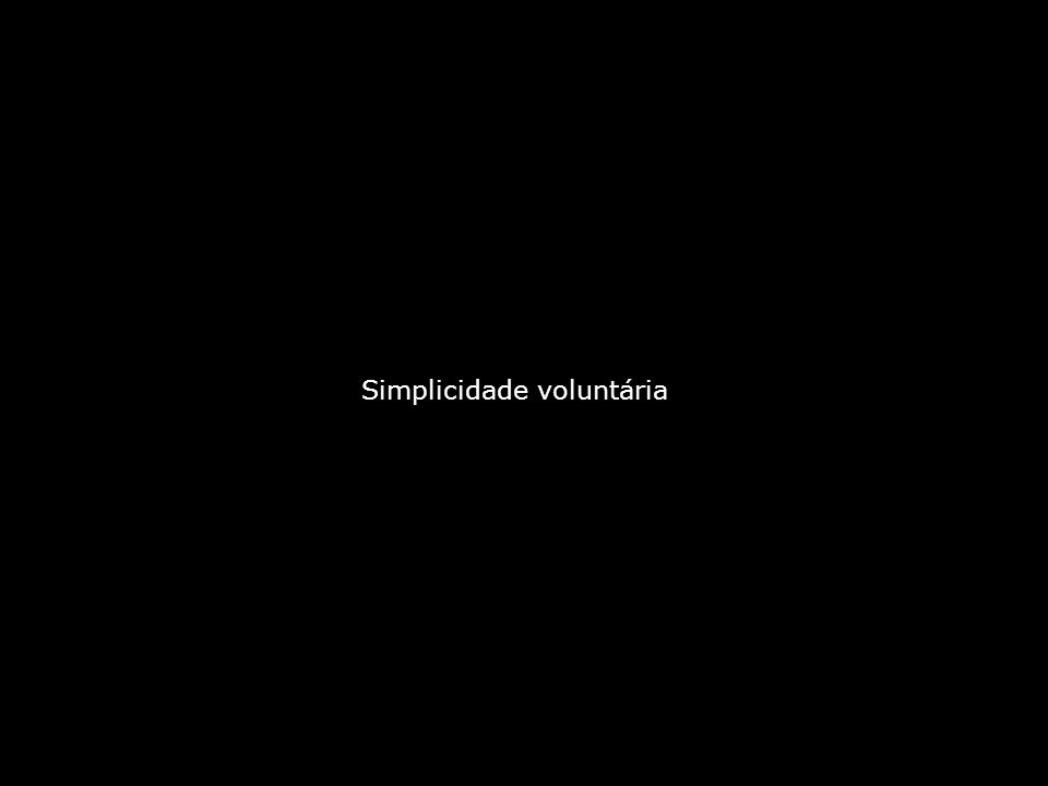 Simplicidade voluntária