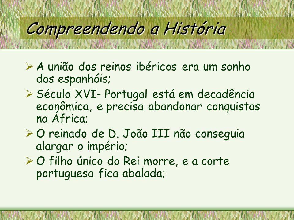 A Espanha deduzira que finalmente teria sua oportunidade de unificação dos reinos, devido a falta de herdeiros portugueses; Em 1564 nasce D.