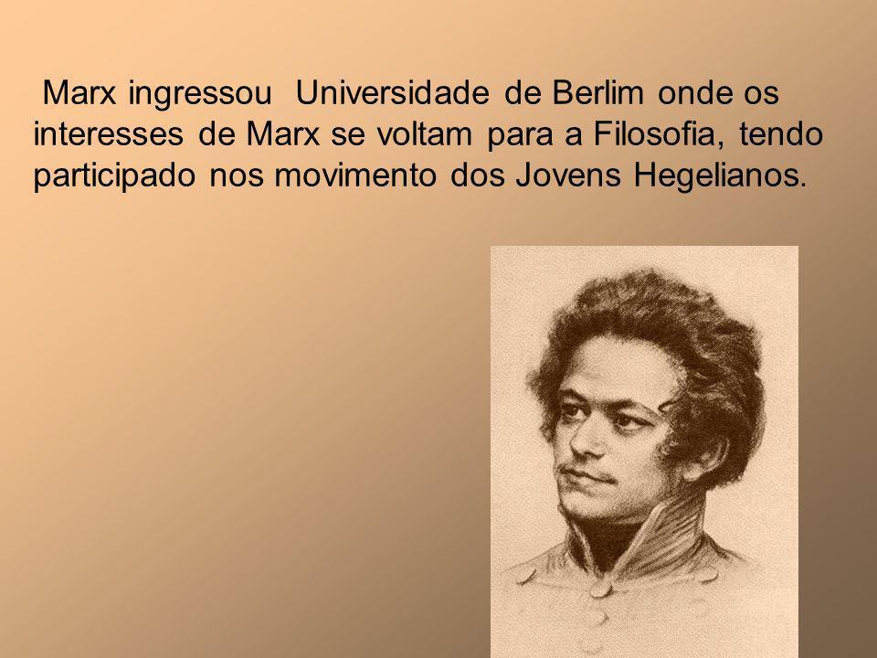 Marx casou-se e teve cinco filhos sendo que três morreram na infância, provavelmente pelas péssimas condições financeiras a que a família estava submetida.