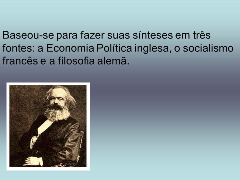Dessa síntese formulou uma nova teoria histórica, que ficou conhecida como materialismo dialético histórico .