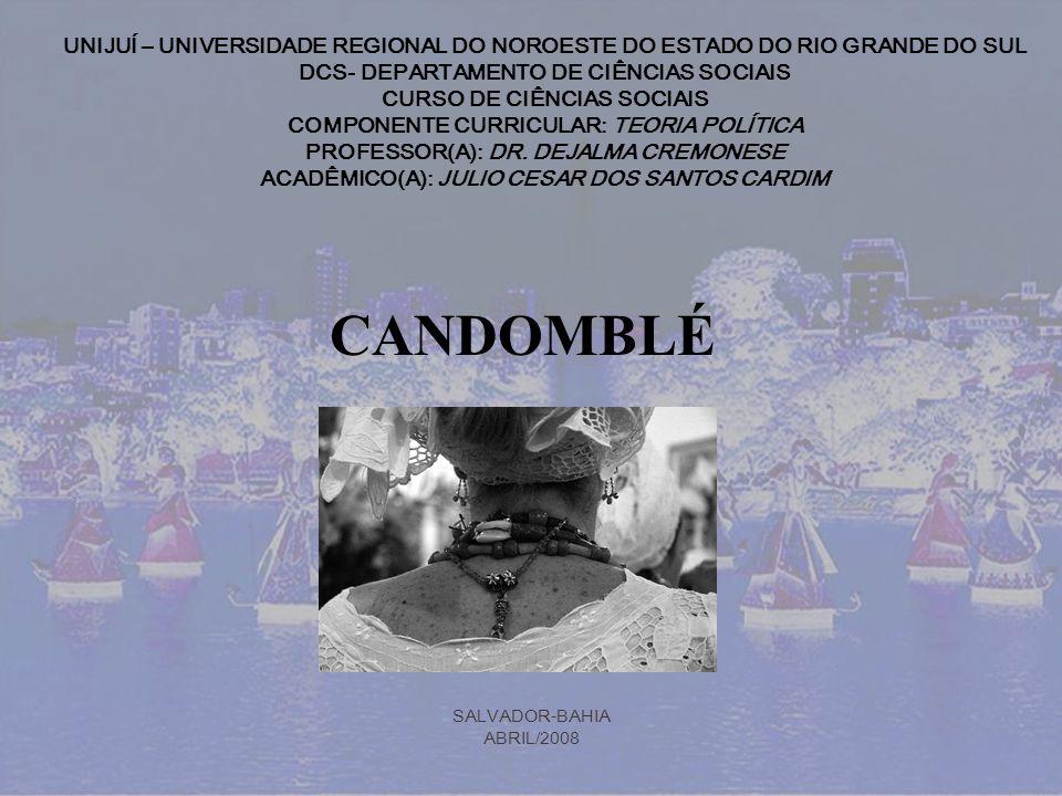 UNIJUÍ – UNIVERSIDADE REGIONAL DO NOROESTE DO ESTADO DO RIO GRANDE DO SUL DCS- DEPARTAMENTO DE CIÊNCIAS SOCIAIS CURSO DE CIÊNCIAS SOCIAIS COMPONENTE C