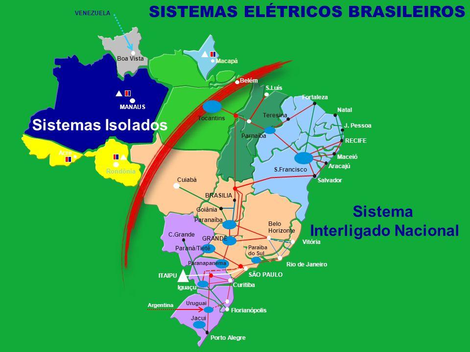 - Geração termoelétrica a óleo Diesel como principal fonte; - Baixa confiabilidade e qualidade do serviço; - Difícil logística de abastecimento do óleo.