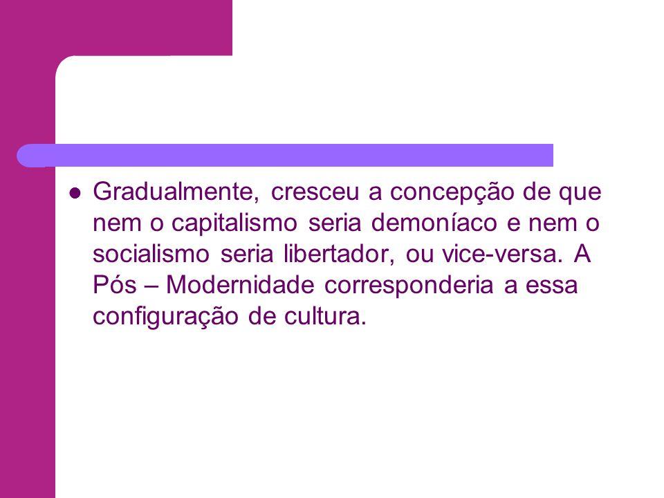 O pós – modernismo por Ernest Gellner Em Pós – modernismo, razão e religião, de 1992, Gellner refere-se da seguinte forma: O pós – modernismo é um movimento contemporâneo (...).