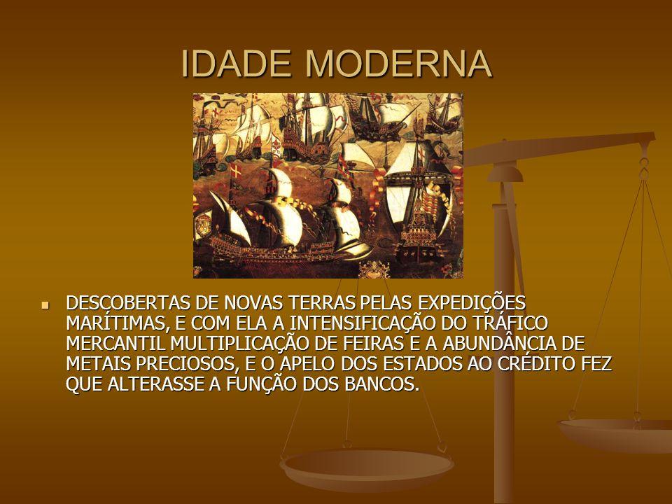 COMÉRCIO BANCÁRIO NO BRASIL O PRIMEIRO BANCO FOI FUNDADO, AINDA NA FASE COLÔNIAL, AOS 12 DE OUTUBRO DE 1808, COM NOME BANCO DO BRASIL.ALÉM DO BANCO OFÍCIAL, GRANDE NÚMEROS DE EMPRÉSAS BANCÁRIAS SURGIRAM ENTRE NÓS, APARTIR DOS MEADOS DO SÉCULO PASSADO, CULMINANDO A INTENSIFICAÇÃO BANCÁRIA.