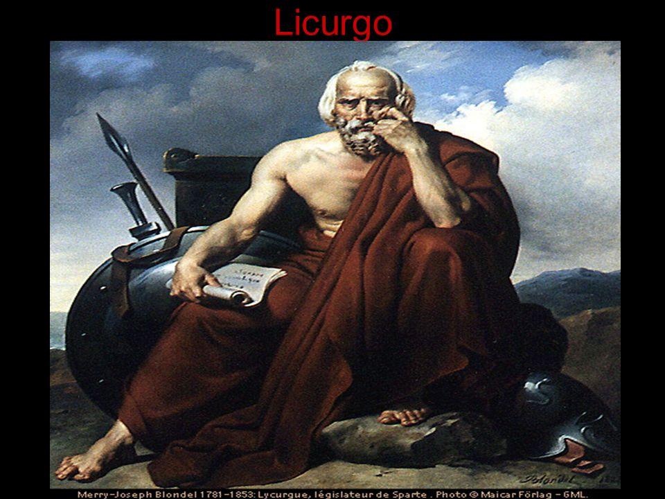 Licurgo, em vez de deixar a cada cidadão o encargo de escolher um escravo-tutor para seu filho; Designou um paidônomo como guardião público dos meninos espartanos; Com total autoridade sobre eles.
