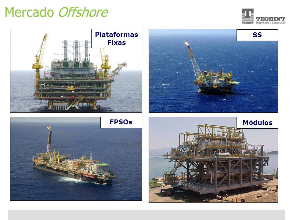 Unidade Offshore Techint 10 Ricardo Ourique Mercado Offshore Plataformas Fixas FPSOs SS Módulos