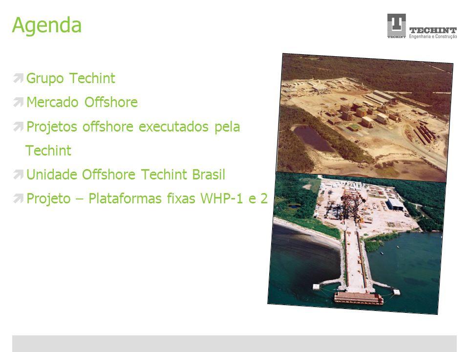 Unidade Offshore Techint 2 Ricardo Ourique Agenda Grupo Techint Mercado Offshore Projetos offshore executados pela Techint Unidade Offshore Techint Br