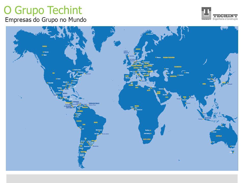 Unidade Offshore Techint 4 Ricardo Ourique O Grupo Techint Empresas do Grupo no Mundo