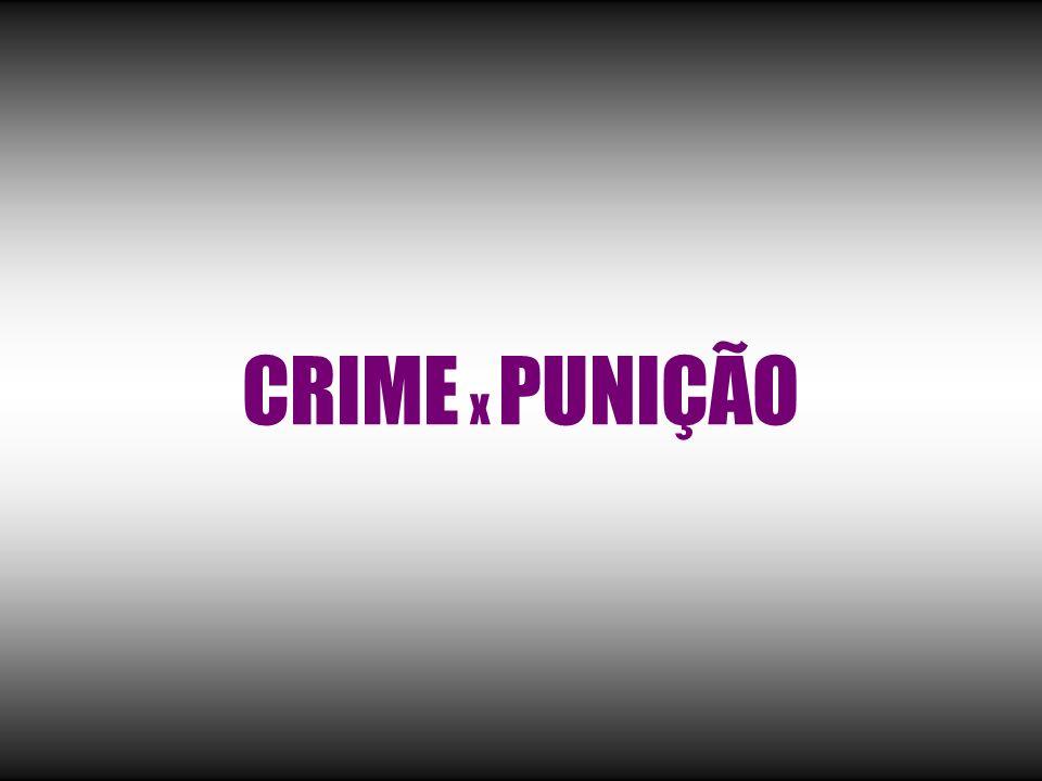 CRIME x PUNIÇÃO