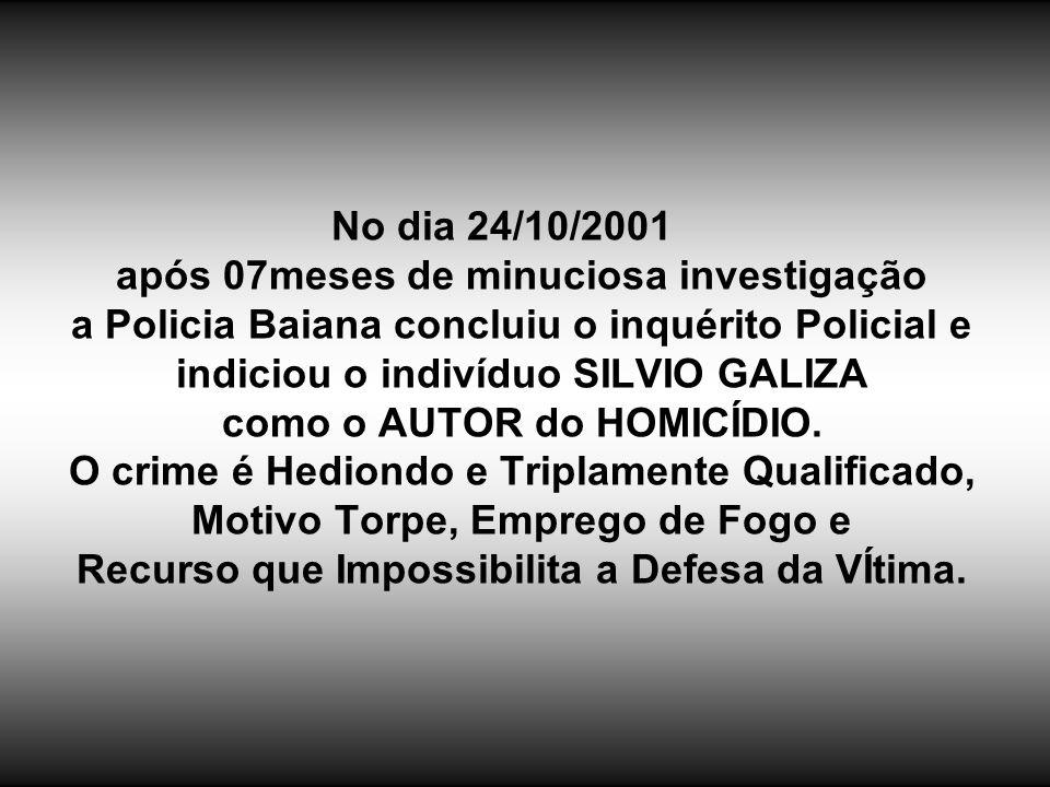 CASO - LUCAS TERRA Meu nome é CARLOS TERRA, sou pai do estudante LUCAS TERRA (14 anos) que foi QUEIMADO VIVO no dia 21/03/2001, segundo Laudo da Polic