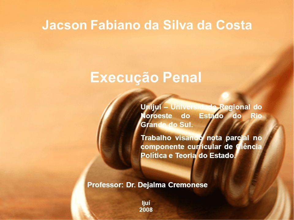 A execução penal tem por objetivo efetivar as disposições de sentença criminal e proporcionar condições para a harmônica integração social do condenado e do internado.