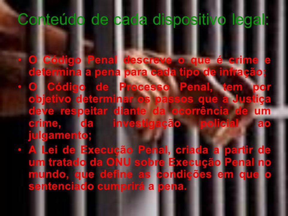 A Lei de Execução Penal - LEP tem por objetivo, segundo o seu Art.