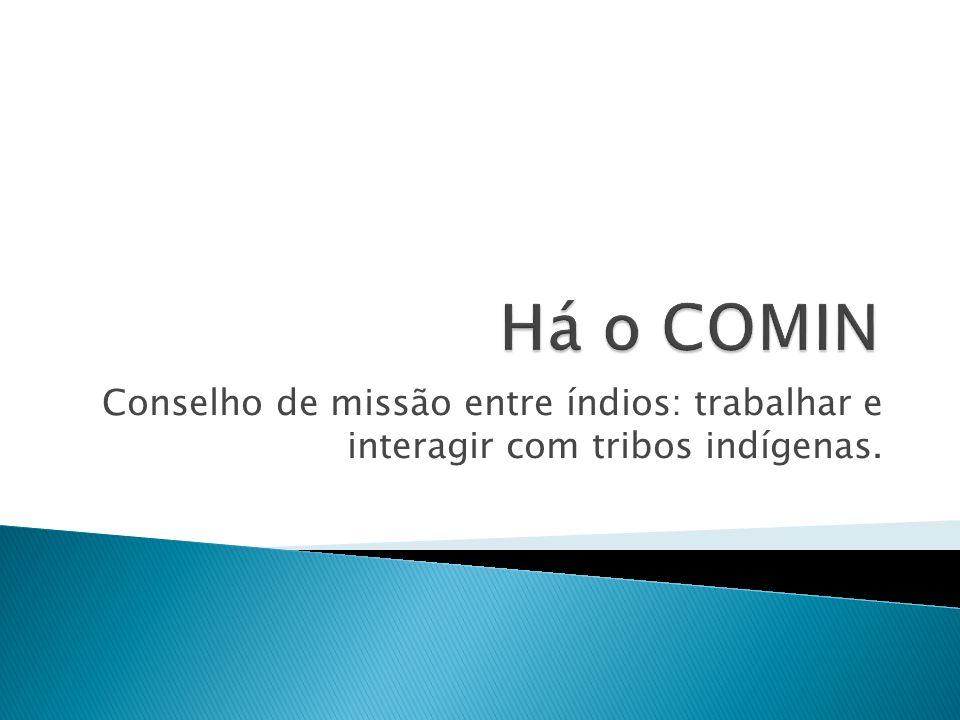 Conselho de missão entre índios: trabalhar e interagir com tribos indígenas.