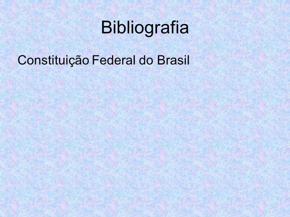 Bibliografia Constituição Federal do Brasil