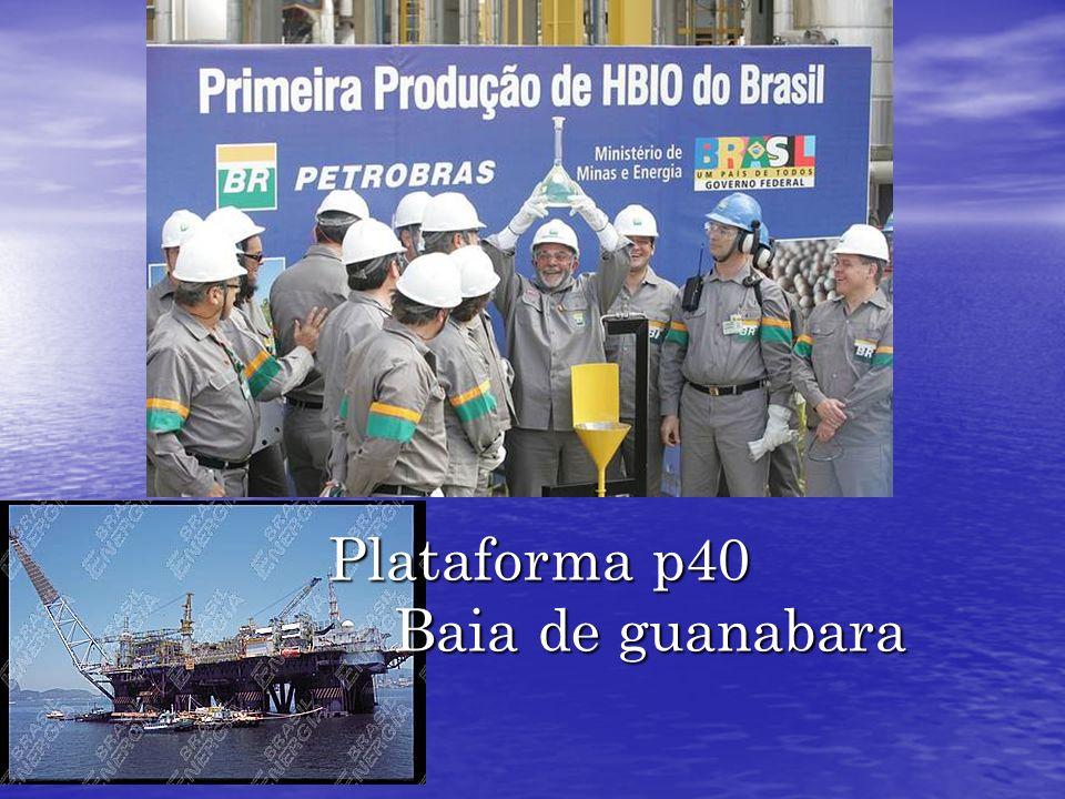 Plataforma p40 Baia de guanabara Plataforma p40 Baia de guanabara