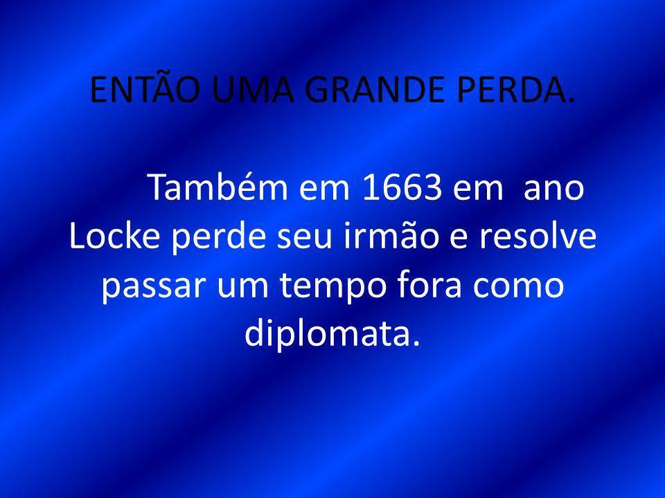 ENTÃO UMA GRANDE PERDA.