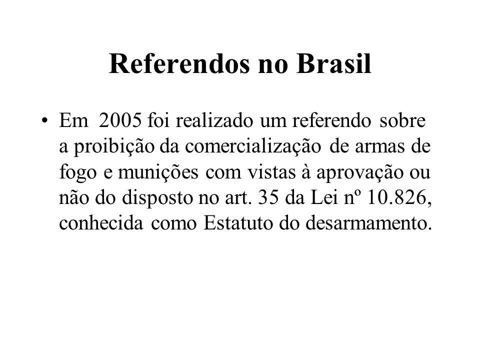 O uso perverso do referendo O referendo de 1933 em Portugal não só as abstenções foram somadas à contagem do sim - falseando a vontade da maioria – como era nitidamente delegatório , serviu para institucionalizar a ditadura de Salazar.