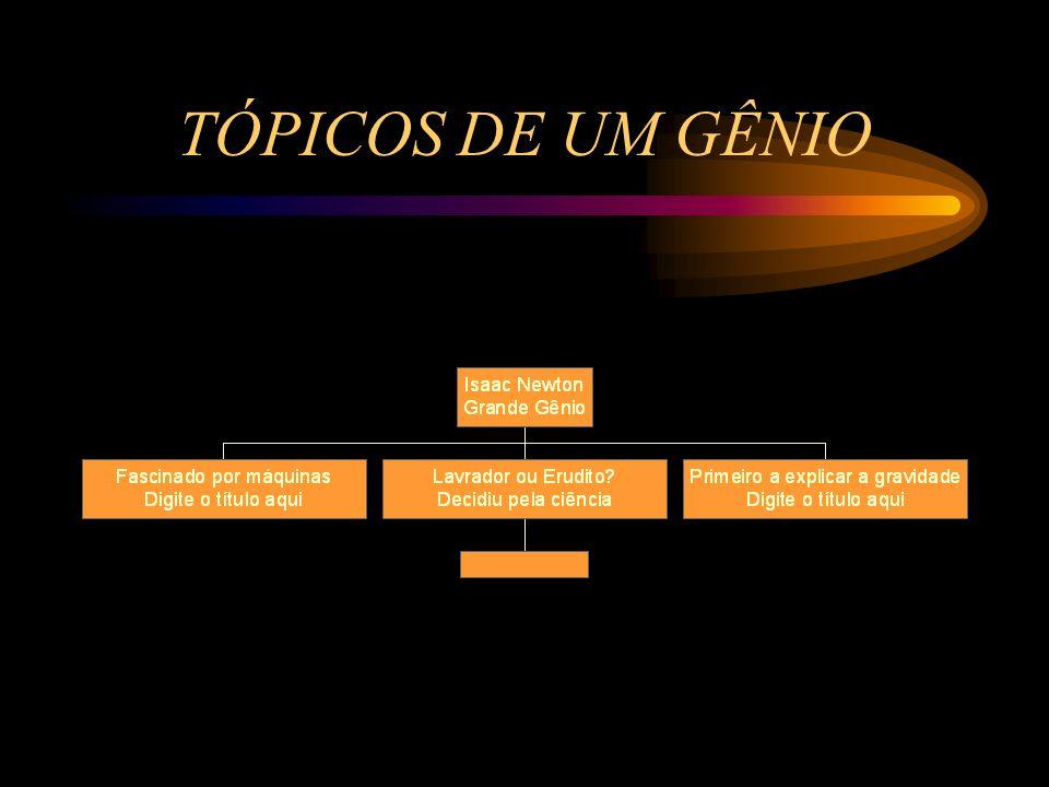 TÓPICOS DE UM GÊNIO