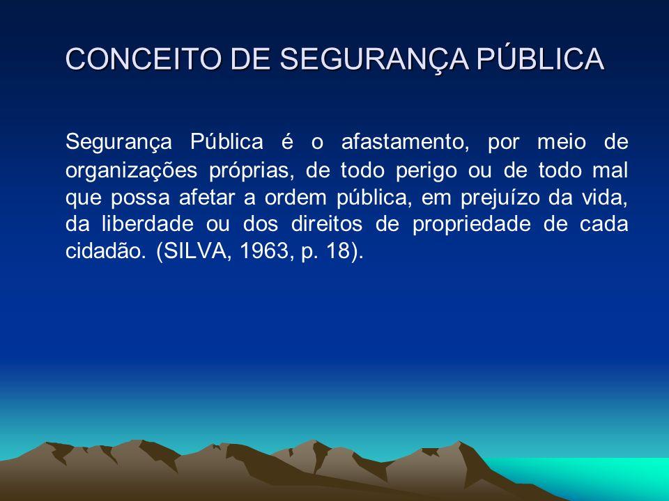 A POLÍCIA MILITAR E A SOCIEDADE A sociedade cria expectativas sobre os serviços prestados pelo sistema policial.