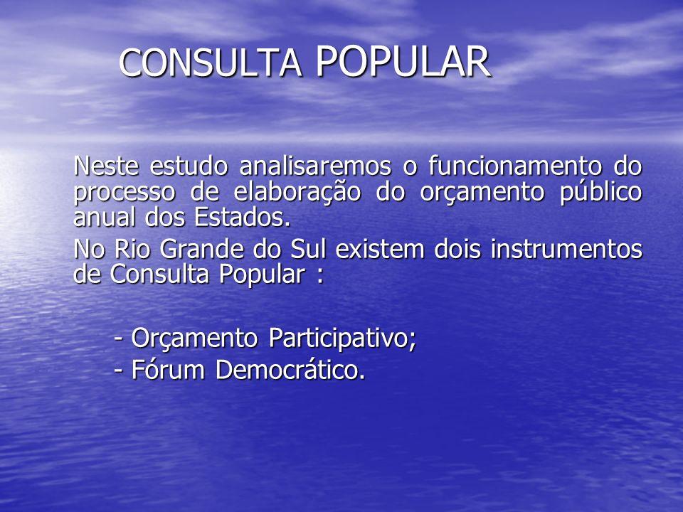 No Rio Grande do Sul a Consulta Popular é organizada pelos Coredes, são muitos e cada um abrange vários municípios No Rio Grande do Sul a Consulta Popular é organizada pelos Coredes, são muitos e cada um abrange vários municípios