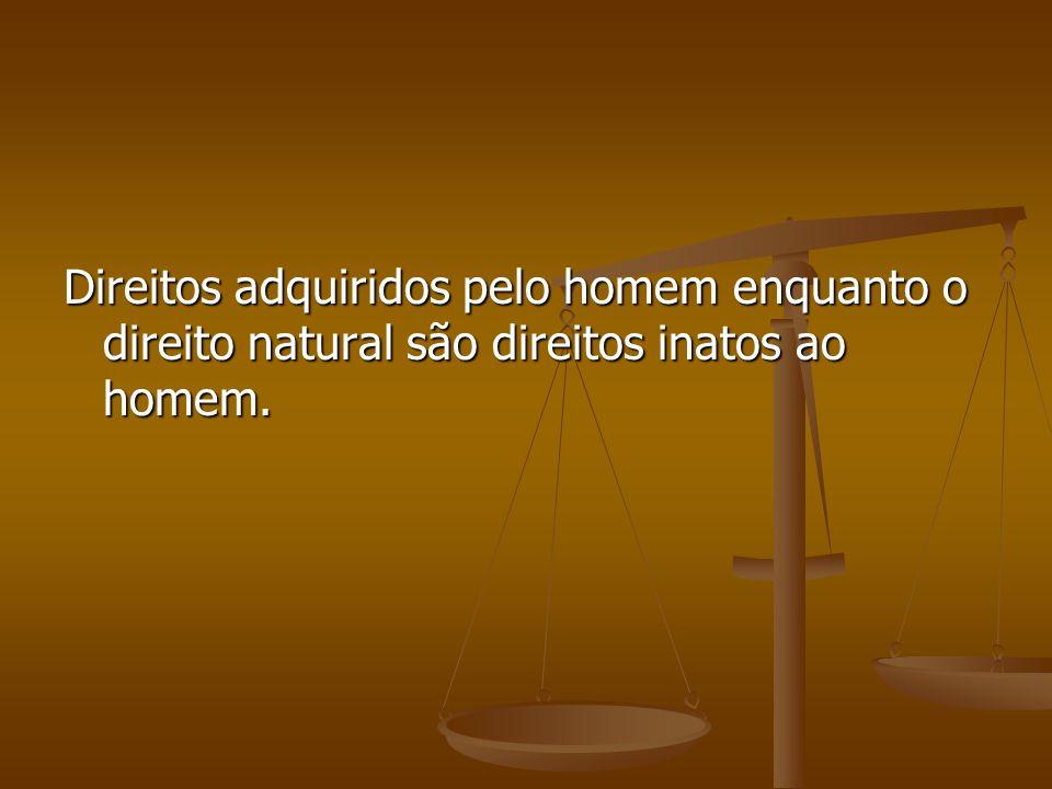 Distinção entre direito objetivo e direito positivo Direito positivo: apenas o direito que é legalizado pelo estado.