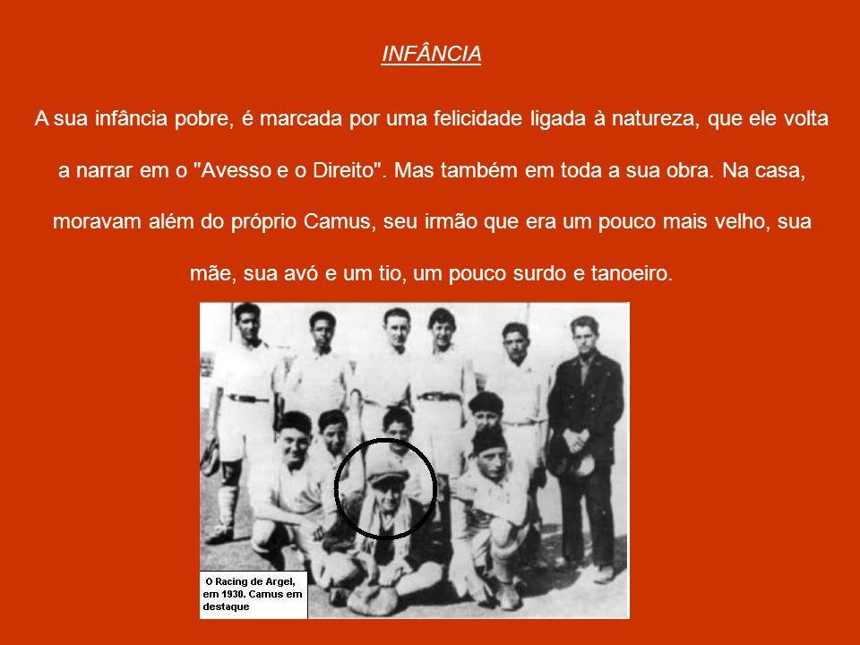 No começo o fato de Albert Camus seguir para a escola secundária, não foi muito bem vista pois o próprio Camus diz que no começo foi difícil para ele essa decisão, pois ele sabia que a família precisava da renda do seu trabalho.