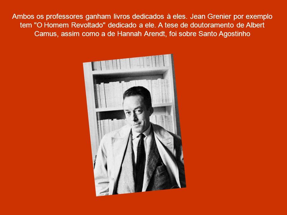 Características das Obras de Camus: Três características podem ser observadas em suas obras: A vida humana é fundamentada em incoerência, confusa, sem as diferenças tradicionais entre o bem e o mal, o certo e o errado.