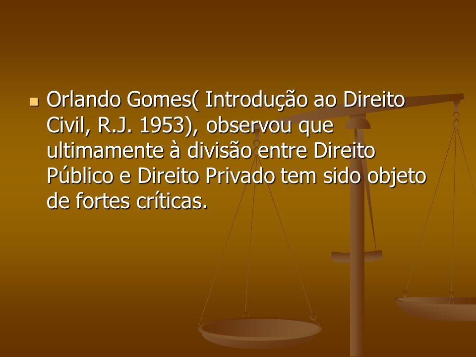 Orlando Gomes( Introdução ao Direito Civil, R.J.