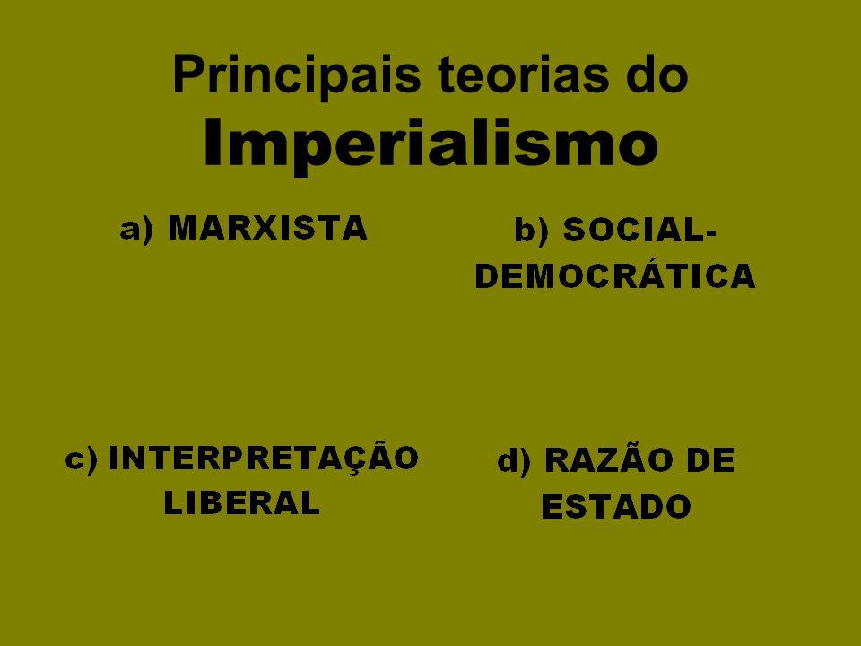 Principais teorias do Imperialismo