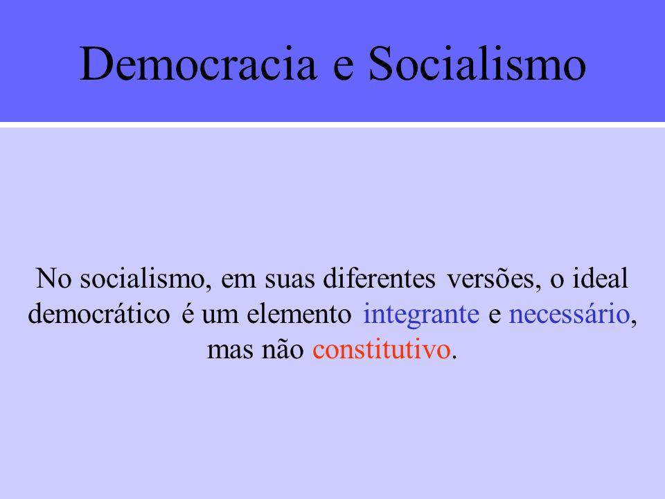 Democracia e Liberalismo A discussão em torno da democracia se foi desenvolvendo principalmente através de um confronto com as doutrinas políticas dom