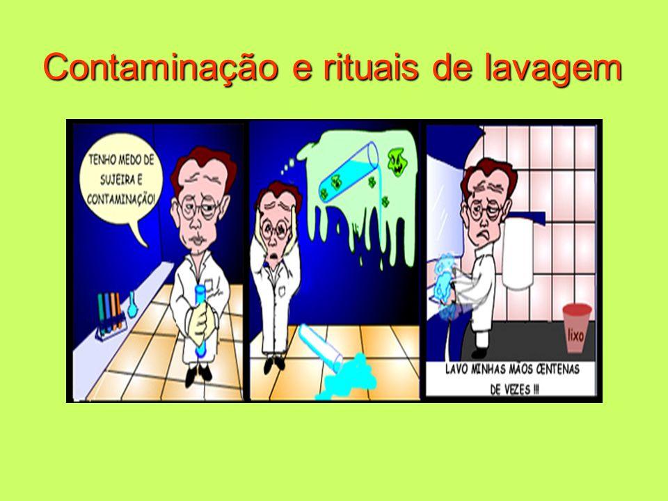 Contaminação e rituais de lavagem