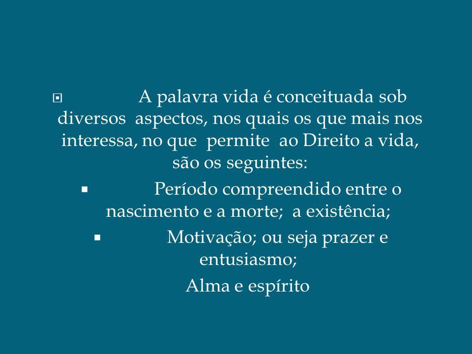 A Vida é interpretada de Diversas formas: Para o autor Antônio Chaves, a vida é algo que oscila entre um interior e um exterior entre uma alma e um corpo.