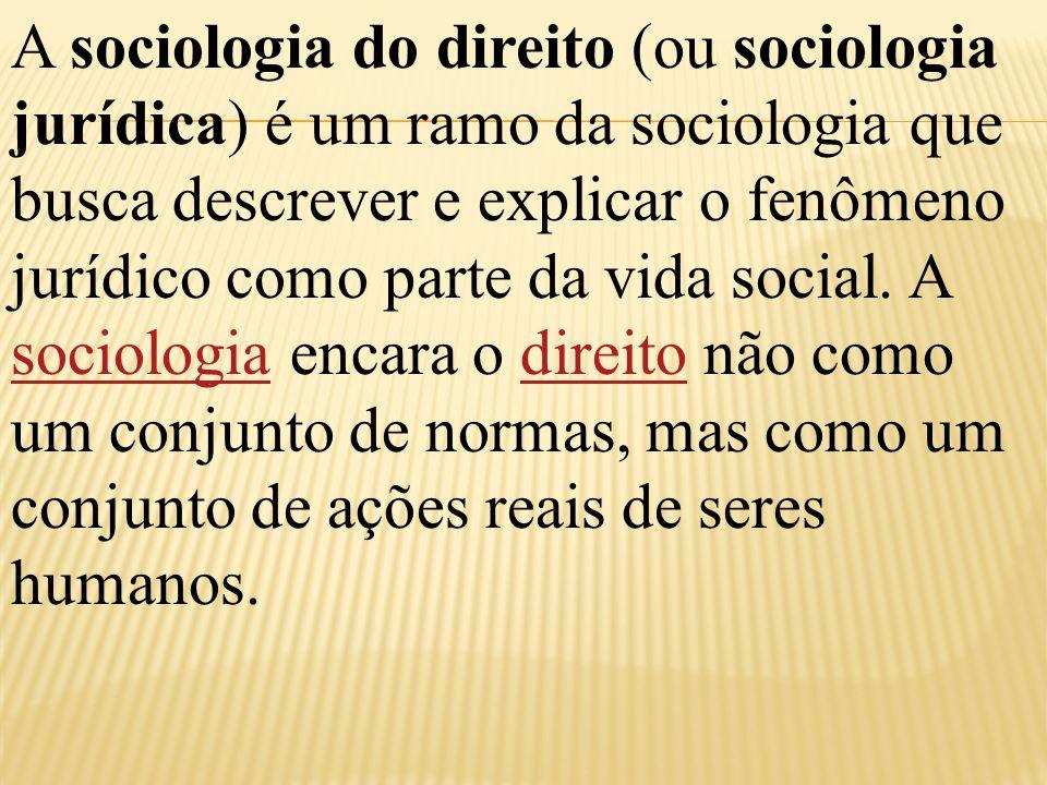 DIREITO E SOLIDARIEDADE SOCIAL Predomínio da solidariedade orgânica (divisão do trabalho) implica na ampliação da influencia do direito restritivo na produção da solidariedade social.