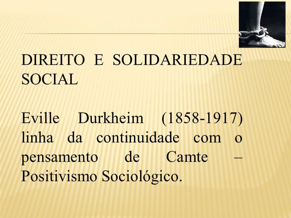 SOCIOLOGIA = Ciência cujo objeto é os fatos sociais Conceito de Fato Social objetividade independente das manifestações individuais – exterioridade.