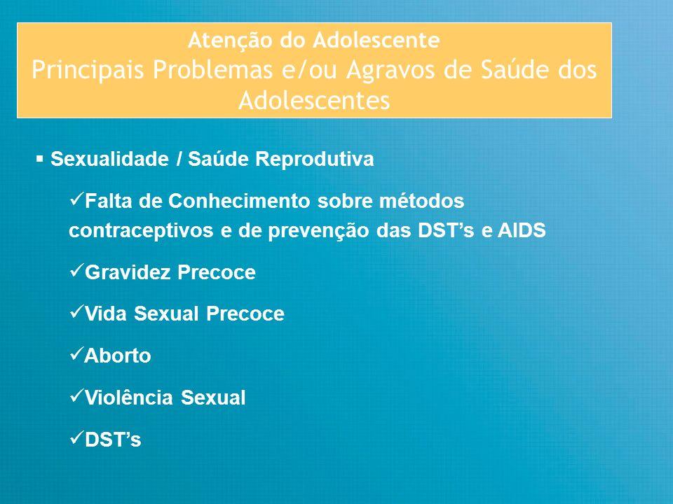 Atenção do Adolescente E QUEM SÃO OS ADOLESCENTES.
