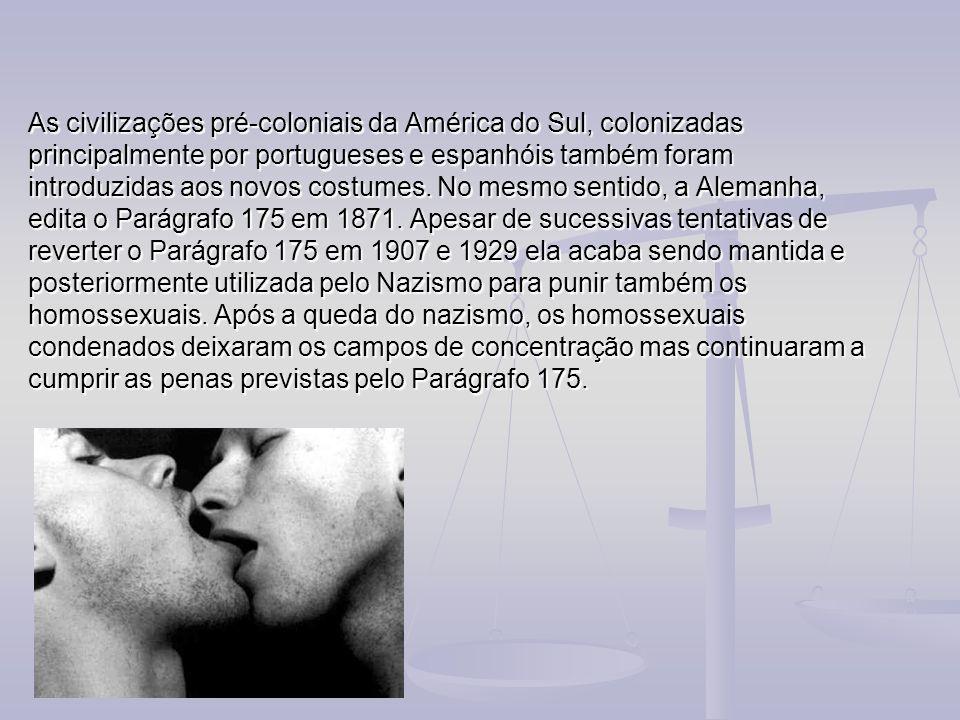 As civilizações pré-coloniais da América do Sul, colonizadas principalmente por portugueses e espanhóis também foram introduzidas aos novos costumes.