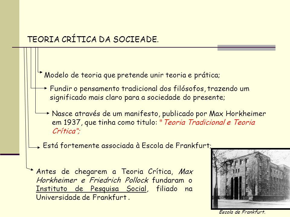 Max Horkheimer e Herbert Marcuse criaram os seguintes conceitos baseados na Teoria Crítica Herbert Marcuse Max Horkheimer CONCEITOS Cultura de Massa Manifestações culturais destinadas as camadas mais numerosas da população.