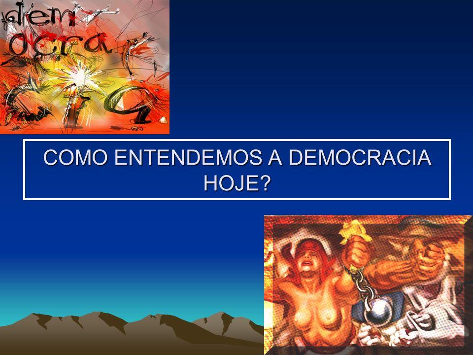 Na América Latina Difícil consolidação dos sistemas democráticos Perigo sempre iminente de desestabilização da democracia O desafio de compatibilizar a democracia formal (eleitoral) com a democracia (substantiva) social Altos índices de pobreza e desigualdades sociais