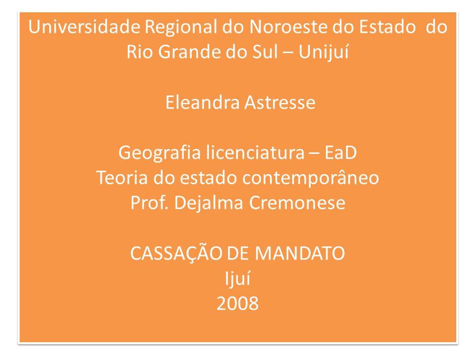 Em 28 de janeiro do ano de 2008, o Tribunal Regional Eleitoral do Estado do Paraná reconheceu, pela primeira vez, a procedência de pedido de perda de mandato eletivo por infidelidade partidária.