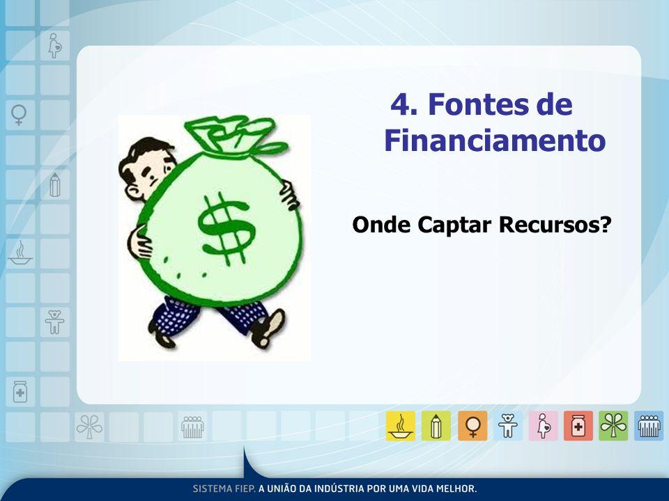 4. Fontes de Financiamento Onde Captar Recursos?