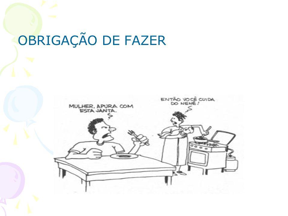 OBRIGAÇÃO DE FAZER