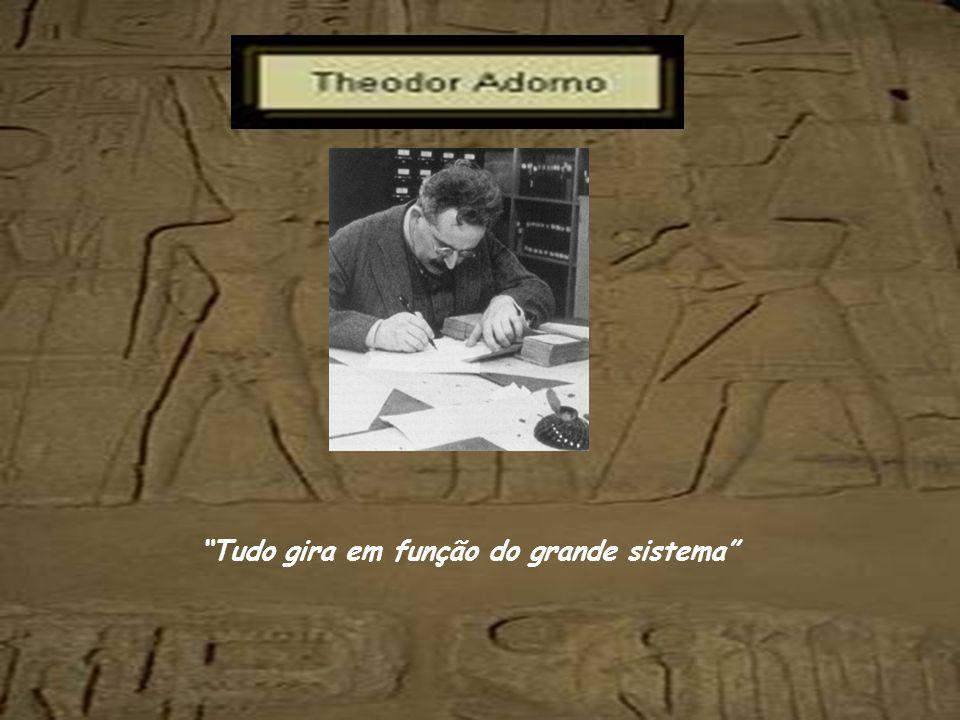 Adorno, terminada a Segunda Guerra, voltou para a Europa, para Frankfurt, atarefado em reabrir a sua escola de sociologia