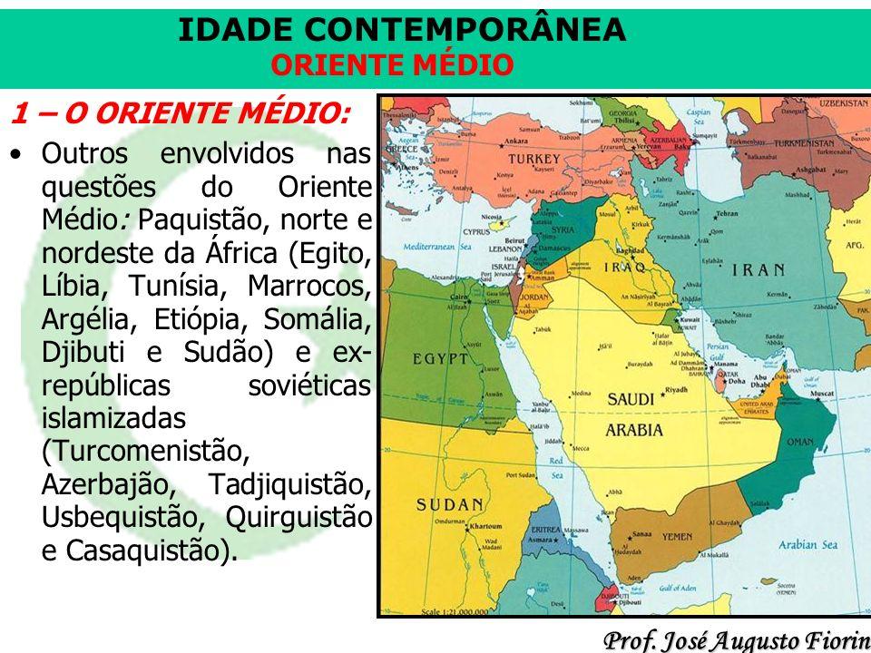 IDADE CONTEMPORÂNEA Prof.José Augusto Fiorin ORIENTE MÉDIO Vantagem inicial do Iraque.