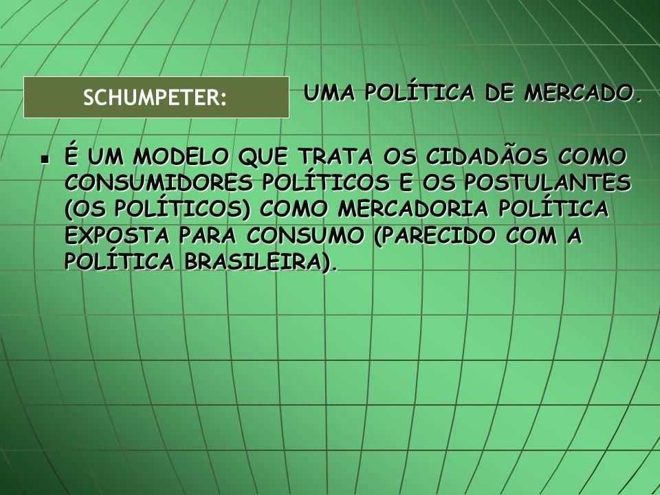 UMA POLÍTICA DE MERCADO.