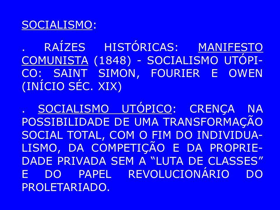 SOCIALISMO:.