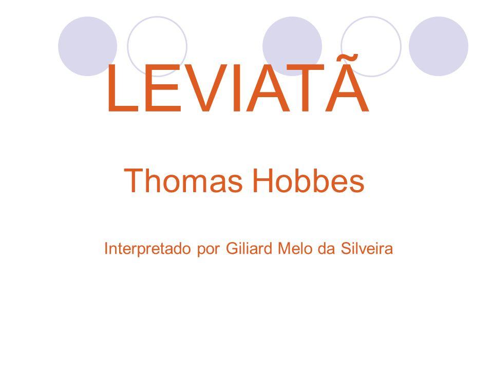 Biografia: Thomas Hobbes nasceu em 5 de Abril de 1588 na cidade inglesa de West Port.